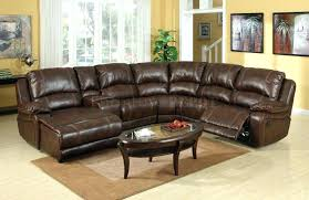 leather sectional sleeper sofa recliner microfiber sectionals