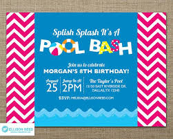 swim party invitations swim party invitations for the invitations