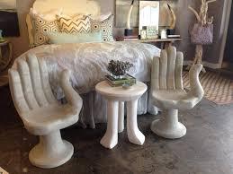 Bedroom Armchair Design Ideas Accent Table Flanked Bedroom Chairs Design Ideas Regarding Bedroom