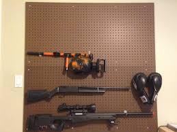 Making Pegboard Gun Wall