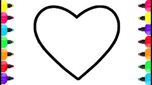 heart shape coloring pages how to draw heart shape accessory for