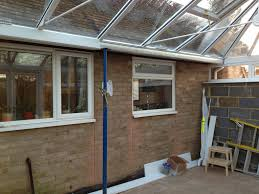 box gutter ab conservatories ltd a review see how ab conservatories ltd had to use an emergency acrow prop after the box gutter