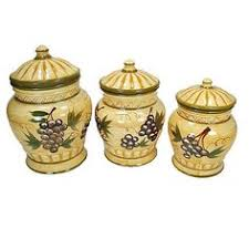 grape canister sets kitchen picture of ceramic grapes canister sets for kitchen classical