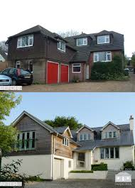 Remodel House by Exterior Remodelling Scheme By Back To Front Exterior Design