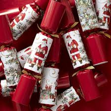 christmas crackers twas the before christmas crackers set of 12 williams sonoma