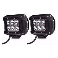 Led Light Bar Driving Lights by 2x 18w 4