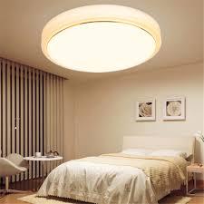 Bedroom Wall Light Fittings Adjustable Round Led Ceiling Pendant Fixture 4 Mode Light