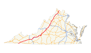 Knoxville Tn Zip Code Map by U S Route 11 In Virginia Wikipedia
