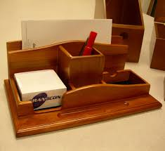 Modern Desk Organizers by Wooden Desk Top Organizers Decorative Desk Decoration