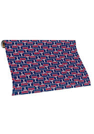 notre dame wrapping paper rangers tubed wrapping paper 16050006