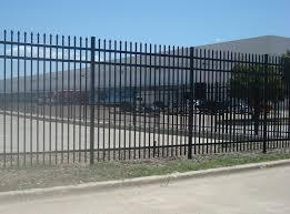 montage ii industrial fencing high security decorative steel