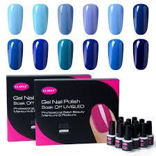 gel nail polish 12pcs kits soak off uv led colour varnish manicure
