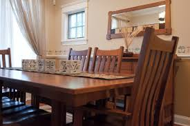 bellingham table and chairs craftsman dining room chicago