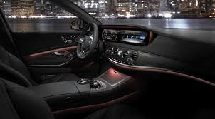 mercedes dashboard 2017 2018 w222 mercedes benz s class facelift teased in new york to