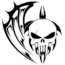 25 cool tribal skull tattoos only skull tats