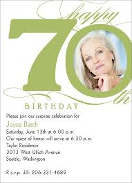 70th birthday invitation wording cloveranddot com