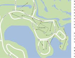 Delray Florida Map by Okeeheelee Park Professional Disc Golf Association