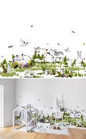 best 20 wallpaper for kids room ideas on pinterest boys nursery the rabbit s playground nursery muralsnursery