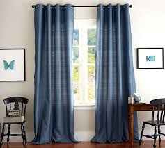 Dupioni Silk Drapes Discount Dupioni Silk Pole Pocket Drape Pottery Barn