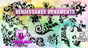 renaissance ornaments dezignus free floral and