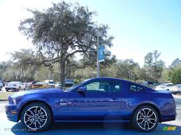 Mustang Gt 2014 Black 2014 Deep Impact Blue Ford Mustang Gt Premium Coupe 77398727