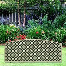 Diamond Trellis Panels Trellis Fence Panels A U0026p Fencing Birmingham West Midlands