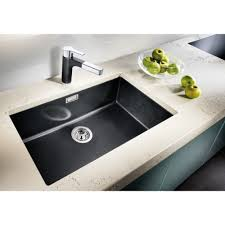 Blanco Subline U Silgranit Puradur II Xmm Single Bowl - Single undermount kitchen sinks