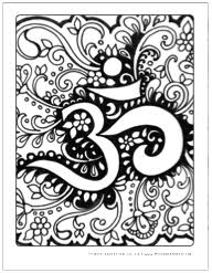 om mandala coloring pages coloring pages for all ages to download print for free