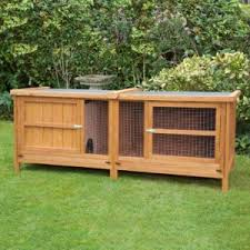 home u0026 roost single u0026 double tier 6ft rabbit hutches