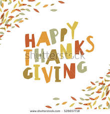 happy thanksgiving card design paper cut stock illustration