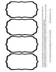 blank label template templates memberpro co