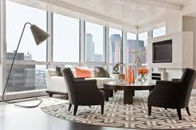 dining room rug size elegant white shade crystal table lamp black