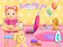 Cleaning Games For Girls Sweet Baby Daycare 3 Android Apps On Google Play