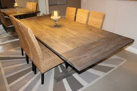 Dining Room Farmhouse Extension Dining Table Dining Room Extension - Dining room tables with extensions