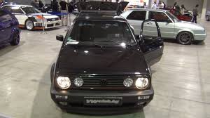 Golf Gti Mk2 Interior Volkswagen Golf Mk2 Tuned Gti 1990 Black Exterior And Interior