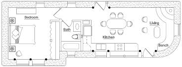 rectangular square earthbag house plans page 3