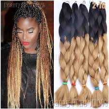 Hairstyles With Jumbo Braiding Hair Aliexpress Com Buy Synthetic Braiding Hair 24