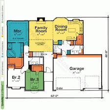 simple open house plans simple square house floor plans small budget plan open awesome one