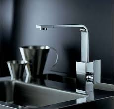 designer kitchen taps media slimline single lever kitchen tap chrome abode ab mdch