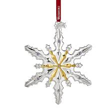 waterford silver snowflake ornament 2016 silver superstore