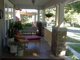 Craftsman Style Patio Milestone Thirty One Feet Of Craftsman Style Porch Railing By