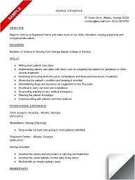 home care nurse resume sample sample student resumes nursing