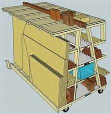 plywood storage rack free plans image mag