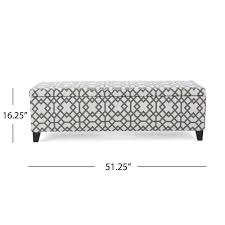 breanna floral fabric storage ottoman by christopher knight home cleo geometric fabric storage ottoman bench by christopher knight