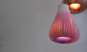 Paper Lighting Fixtures Bulbous Paper Lamps By Paula Arntzen Hang Like Glowing Handmade
