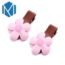 baby barrettes aliexpress buy m mism 1pair flower hairpins baby