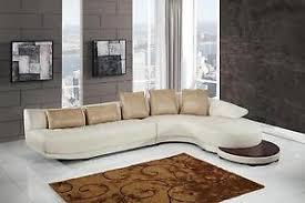 global furniture bonded leather sofa global furniture ufm208 sec beige white bonded leather curved sofa
