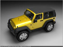 yellow jeep jeep rubicon yellow vray render jeep rubicon modeled in u2026 flickr