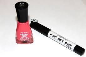 sally hansen i heart my nail art polka dot tutorial katie did what