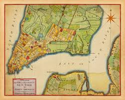 A Map Of New York City by City Plan Of New York 1776 Revolutionary Era Map Battlemaps Us